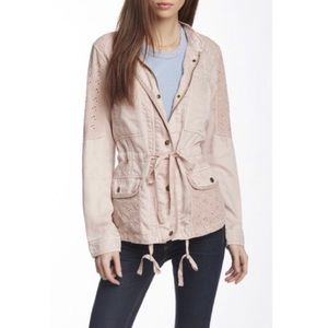 Max Jeans Zip utility jacket, ice pink, M